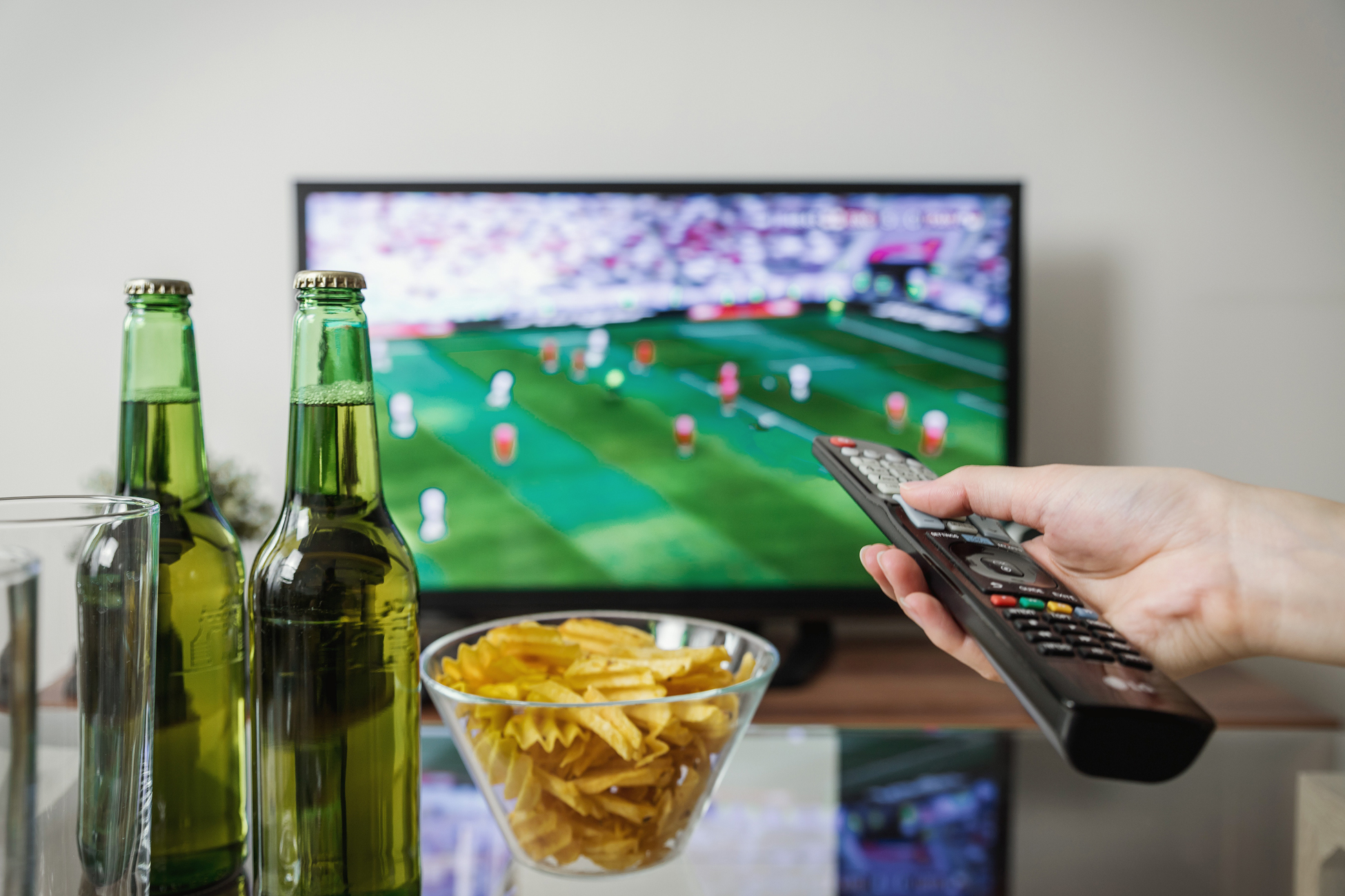 SuperBowl Ads Beer and Chips