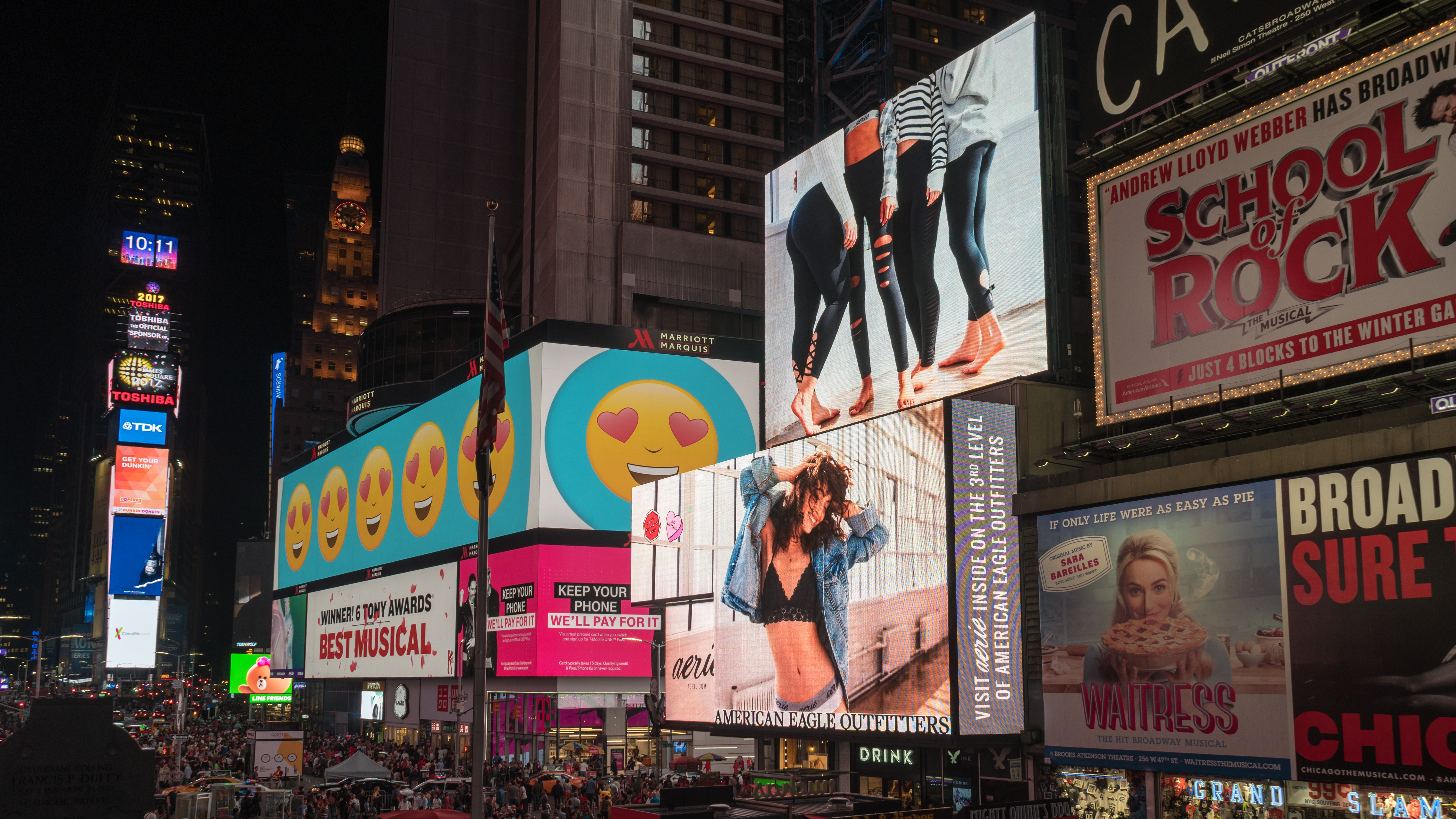 digital ads in times square